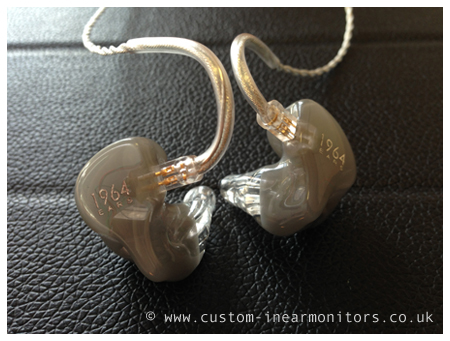 1964 Ears 1964-V6 Custom In Ear Monitors