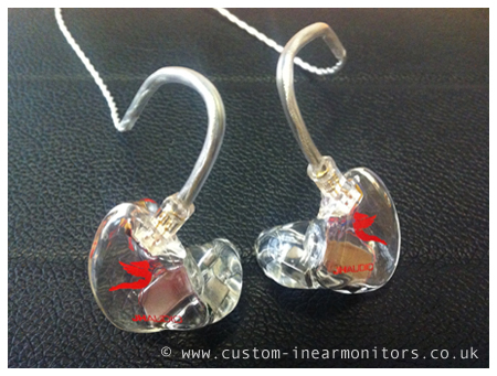 JH Audio JH5 Pro Custom In Ear Monitors