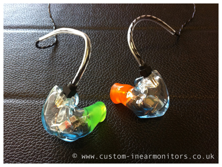 Unique Melody Westone UM3X Reshell Custom In Ear Monitors