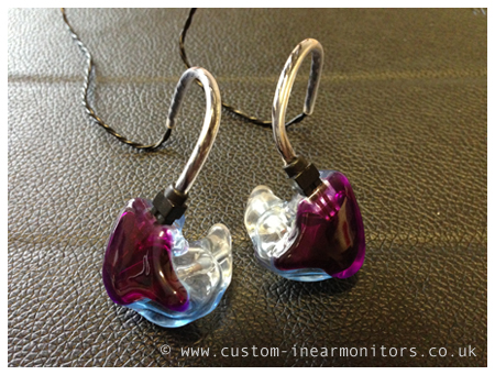 Unique Melody Westone 4R Reshell Custom In Ear Monitors