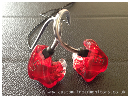 Unique Melody Miracle Reshell Custom In Ear Monitors